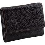 ファッション ギフト 送料無料 ジウディ ソフトエンボスレザー三つ折り財布(ブラウン)(15820109) / 雑貨類 復職小物 小物 アイテム 父の日 母の日 贈り物
