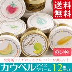 ギフト 北海道産 アイスクリーム カウベルアイス 12個セット / スイーツ アイス 濃厚 北海道 取り寄せ 送料無料