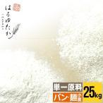 送料無料 小麦粉 強力粉 はるゆたか100 大袋(25kg) 25キロ 【北海道産/単一原料小麦100%使用】
