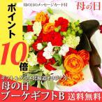 母の日 プレゼント 2018 ブーケギフトB / 花束 ブーケ カーネーション ばら 贈り物 直送 人気 おすすめ 薔薇 バラ【18mam】