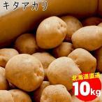 新じゃがいも 送料無料 北海道産 キタアカリ(M〜L混合サイズ)1箱10キロ入り / 10kg 10キロ お取り寄せ 北海道