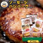惣菜 ハンバーグ ギフト 送料無料 北海道 トンデンファーム ソーセージとハンバーグギフトセットC / ハムセット ベーコン 生ハム ハムギフト