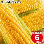 2021年ご予約承り中 9月出荷開始 北海道産 とうもろこし 送料無料 ゴールドラッシュ(6本入り) / トウモロコシ とうきび 産地直送 旬 人気 黄色 イエローコーン