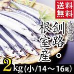 2020年ご予約承り中 9月出荷開始 さんま 北海道産 サンマ 2キロ(小:14尾〜16尾入り) / 秋刀魚 水産 直送 道産 まとめ買い 2kg 2キロ 2kg