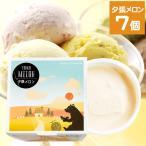 アイス ギフト 北海道 長沼あいすの家 カップアイス 夕張メロン 7個セット / ご当地 お土産 アイスクリーム