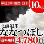 送料無料 新米 米 10kg (5kg×2袋) ななつぼし お米 白米 北海道産 【2017年度米 平成29年度米 10キロ 北海道米】