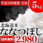 新米 ななつぼし 5kg(白米)【平成28年度/単一原料】 5キロ 北海道産 北海道米
