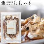メール便 送料無料 北海道産 本干しししゃも(50g) / ぽっきり ポッキリ 海鮮 珍味 おつまみ お試し シシャモ