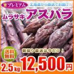 蘆筍 - 紫アスパラガス アスパラ 2.5kg ギフト用 S/2L混 北海道産