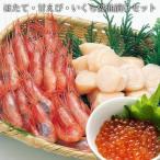 ほたて 甘えび いくら醤油漬け セット ギフト 北海道