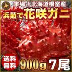 お歳暮ギフト / 花咲ガニ900g×7尾希少な花咲ガニ