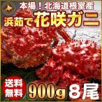 お歳暮ギフト / 花咲ガニ900g×8尾希少な花咲ガニ