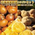 組み合わせ自由北海道産野菜よりどりセットじゃがいも・たまねぎなど3種類購入で送料無料
