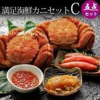 其它 - カニセット 毛ガニ 2尾 海鮮 3種 かに カニ 蟹 北海道産 満足海鮮カニセットC
