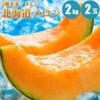 お中元 御中元 ギフト 北海道メロン 2kg× 2玉 超大玉メロン お中元 果物
