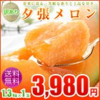 訳ありメロン/夕張メロン約1.3kg×1玉人気の訳ありメロン!夕張メロン