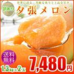 訳ありメロン/夕張メロン約1.3kg×2玉人気の訳ありメロン!夕張メロン