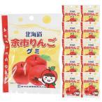お菓子 スイーツ グミ ロマンス製菓 北海道 お土産 余市 りんご グミ 10袋セット(通常税込価格1620) お取り寄せ プレゼント 贈り物