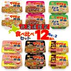 マルちゃん やきそば弁当 いろいろ食べ比べセット 12個入(6種類×2個)北海道限定 人気 お取り寄せ お土産 即席カップ麺 プレゼント 贈り物