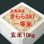 新米 北海道産 きらら397 一等米 玄米10kg (令和2年産)