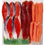【ギフト】紅鮭・筋子・たら子 小《H》発送まで1週間ほどご予定願います(dk-2 dk-3) 北海道お土産ギフト
