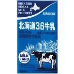北海道日高乳業 北海道3.6牛乳 1000ml×6本