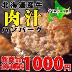 新商品!お試し送料無料/北海道ビーフハンバーグ150g×2/北海道産牛、無添加