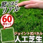 人工芝 人工芝生ジョイントマット60枚セット(30×30cm) リアル人工芝
