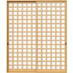 YKKAP室内引戸 ラフォレスタ[新和風] 内障子 引違い戸[2枚建] 枡格子(紙貼障子):2×4用[幅1640mm×高2005mm] YKK YKK室内引戸 室内引き戸 室内建具