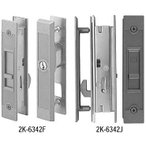 引戸錠セット 4枚建用(HH-J-0815) 玄関引戸 玄関引き戸 玄関 引戸 引き戸 鍵 錠 交換 取り替え 錠セット