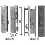 引戸錠セット 4枚建用(HH-J-0816) 玄関引戸 玄関引き戸 玄関 引戸 引き戸 鍵 錠 交換 取り替え 錠セット