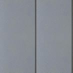 YKKAPアルミ外壁材アルカベール スタンダードシリーズ タテ張りスタッコ 外壁材本体:フロスティグレイ 10.5尺(8枚入り) 外装材 サイディング サイジン