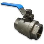 (在庫品)ボールバルブ SCS14A(フルボア) CSF-40A Rc1 1/2 ねじ込み 禁油バルブ ステンレス