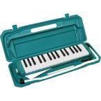 カラフル32鍵盤ハーモニカ MELODY PIANO 〔P3001-32K〕 ピアニカ グリーン