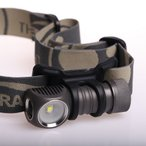 ZEBRALIGHT H302 CR123 Flood Headlamp Cool White【Cree XM-L2 Cool White 白色LED搭載 / 明るさMAX:480ルーメン / CR123×1本使用】ヘッドランプ