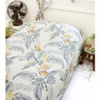 ハワイアン雑貨インテリアハワイアン雑貨バードオブパラダイス柄マルチクロス(エルバ/グレー)極楽鳥花おしゃれアジアンソファーカバーベットカバー