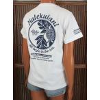 レディース 半袖 Tシャツ ハワイアン アロハメイド (レディース/ホワイト) ハワイアン雑貨 フララニ サーフブランド 雑貨 メール便対応可 202MA2ST052