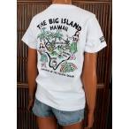 レディース 半袖 Tシャツ ハワイアン アロハメイド (レディース/ホワイト) ハワイアン雑貨 フララニ サーフブランド 雑貨 メール便対応可 202MA2ST062