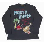 メンズ 長袖 Tシャツ ビッグTシャツ(メンズ/チャコールグレー) アロハメイド ハワイアン雑貨 ハワイアン 雑貨 アメカジ 211MA1LT027