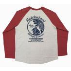 長袖 Tシャツ ラグランTシャツ メンズ  ハワイアン雑貨 ハワイアン 雑貨 アロハメイド(メンズ/アイボリー)  211MA1LT035 メール便対応可