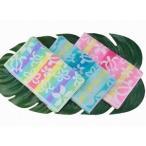 ハワイアン 雑貨 ハワイアン雑貨 グラデーション ホヌ柄 フェイスタオル ハワイアン雑貨