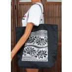 ハワイアン 雑貨 バッグ ファスナー付 エコバッグ(タパ) ハワイ 土産  ハワイアン 雑貨 ハワイ お土産 ハワイアン バッグ