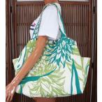 ハワイアン バッグ ハワイアン雑貨 ハワイアン 大トートバッグ(パイナップル/ホワイト) レッスンバッグ 旅行バッグ エコバッグ フラガール ハワイ お土産