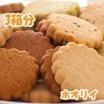 話題のアーモンド・甜菜糖使用!【よく噛んで満腹中枢刺激!】 かたウマ!ホオリイの豆乳おからクッキー3箱分