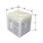 LIXIL(INAX) スーパーセピオライト 脱臭カートリッジ CWA-29 レターパック配送商品