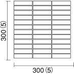 名古屋モザイク IRIEDE イリーデ 95X20ボーダー(スダレ目地)紙貼り IR-S-107