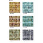 newyorker glassニューヨーカーグラス 15角紙貼り(ブライト) WZ-T○○P(色番:○○)