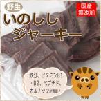 犬 おやつ 国産 無添加 天然イノシシ ジャーキー メール便で送料185円