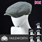 帽子 / 高級ハンチング帽 / Failsworth(フェイルスワース) / Donegal Tweed Windsor(ドネガル ツイード ウィンザー)イギリス製ツイードキャップ...