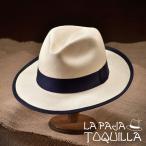 ショッピングネイビー 帽子/パナマハット/LaPajaToquilla(ラ・パハ・トキージャ)/LAGUNA(ラグナ)エクアドル製中折れハット/メンズ・レディース